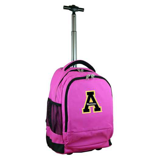 CLAPL780-PK: NCAA Appalachian State Mountaineers Wheeled Premium Backpack